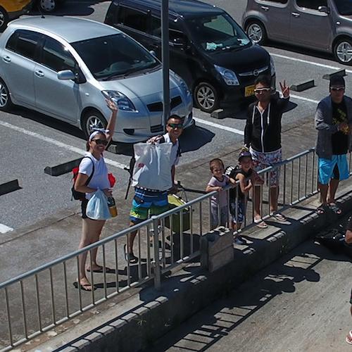ドローン沖縄の体験の感想_家族