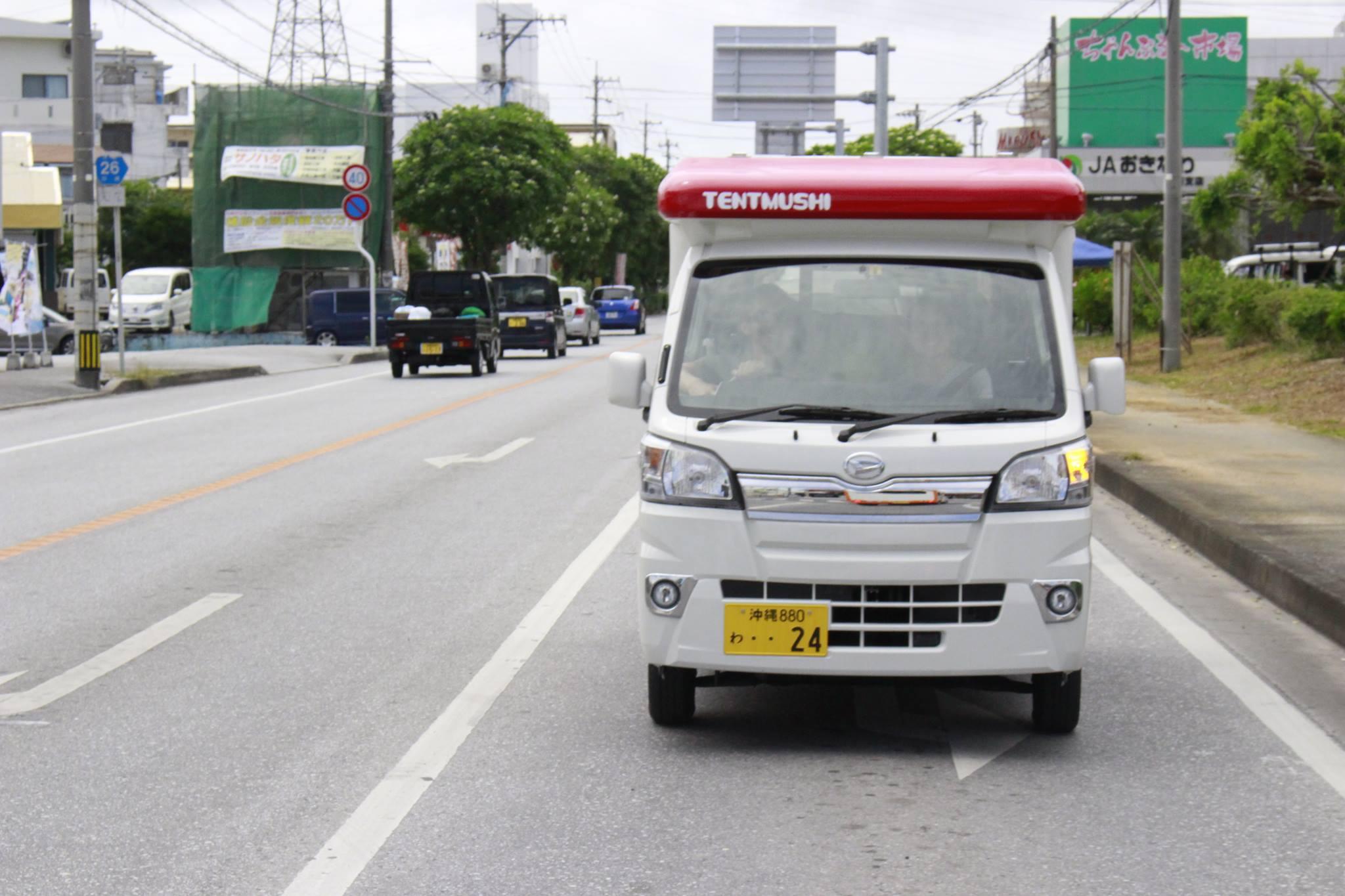 沖縄市でキャンピングカーをレンタル